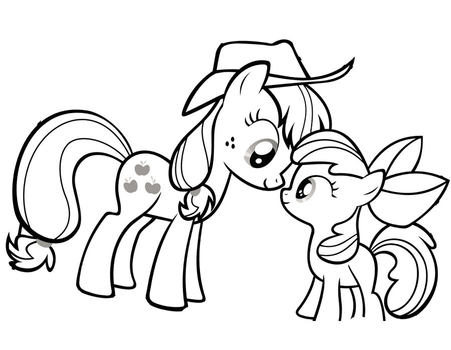 my little pony coloring pages - 1000×650