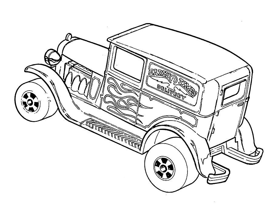 Раскраска Хот Вилс Kia | Раскраски хотвилс