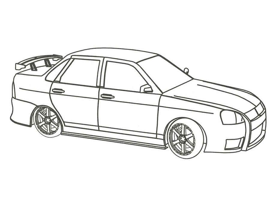 Раскраска Машина | Раскраски машины