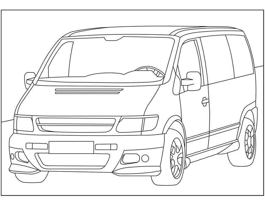 Раскраска Mercedes-Benz E-Class | Раскраски машины