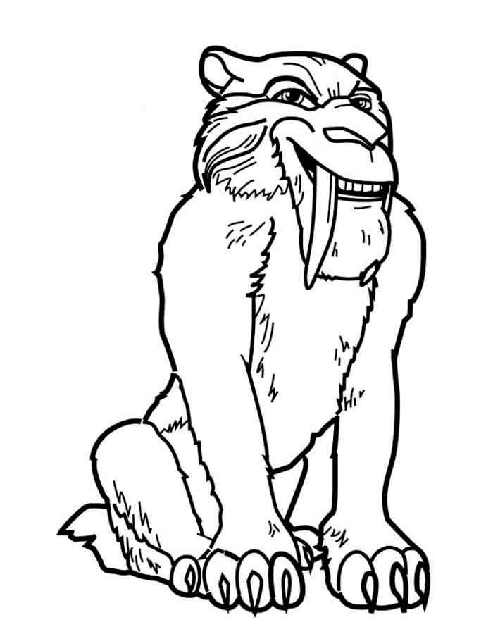 All about Ice Age Characters Coloring Page Free Printable Coloring ...
