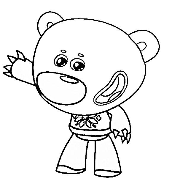 раскраски из мультфильма мимимишки