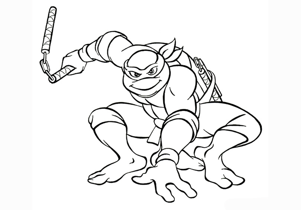 игры раскраски черепашки ниндзя бесплатно детям и для