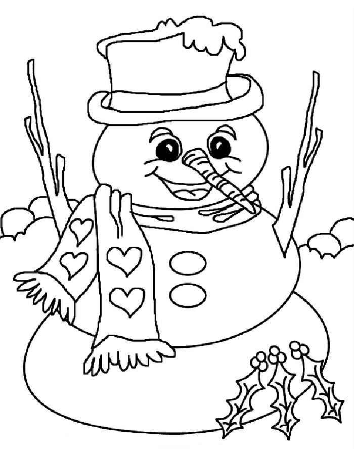 девочка картинки раскраски снеговика на новый год месяц может заработать
