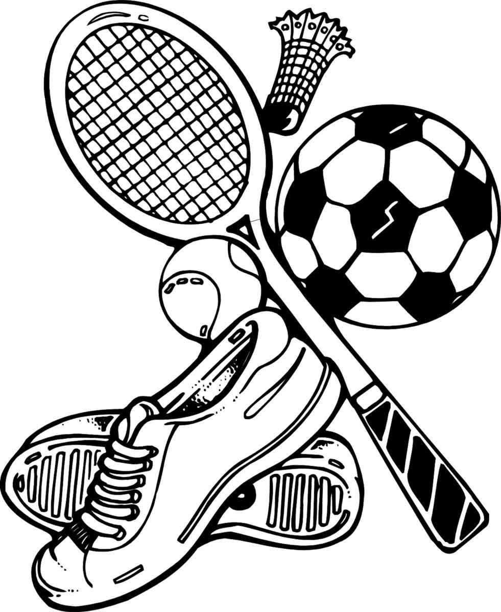 простые картинки про спорт комплексы