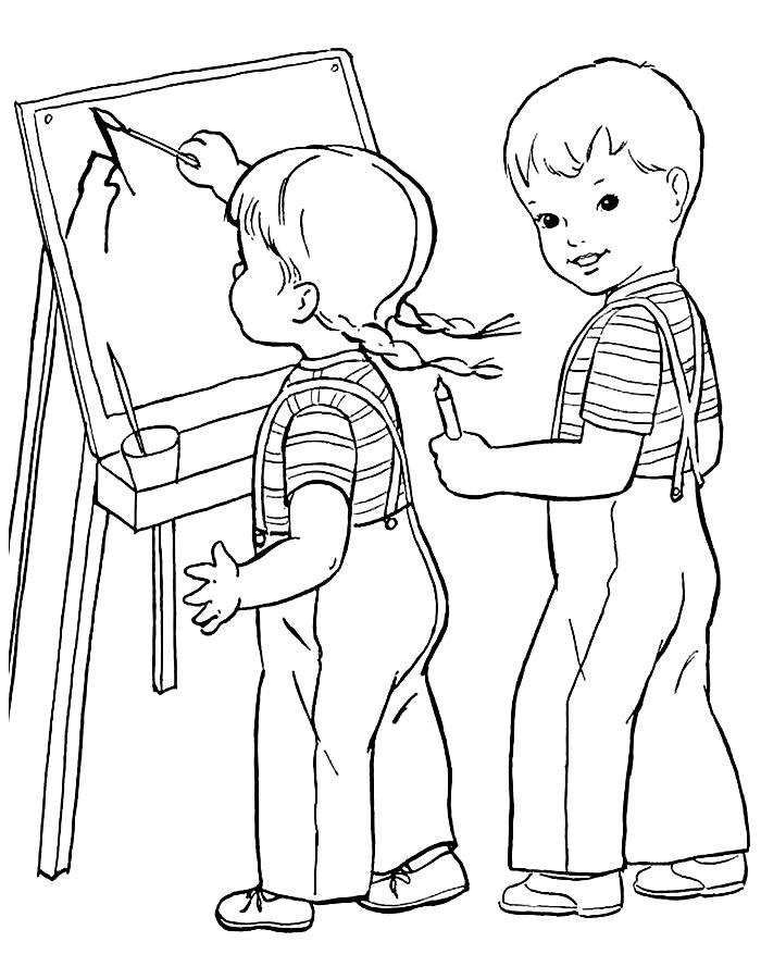 Картинки карандашом школьник