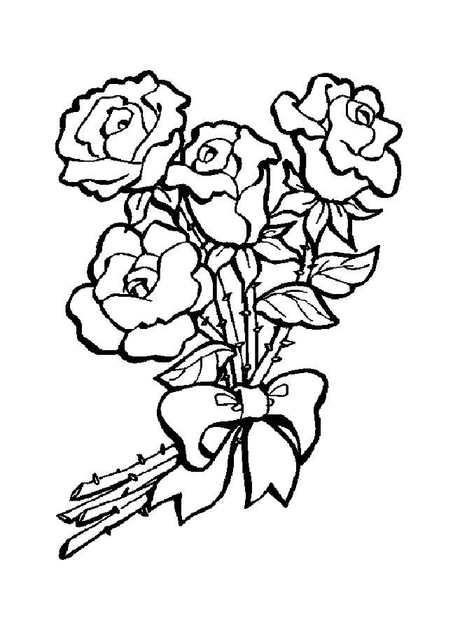 массив букеты цветов рисунки карандашом маме на день рождения орнаментом