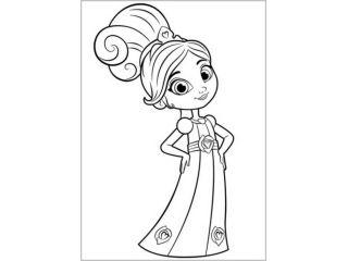 Раскраски Нелла отважная принцесса