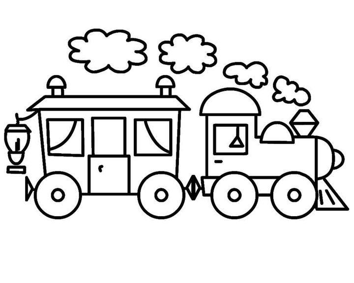 раскраска паровоз гудит раскраски паровоз