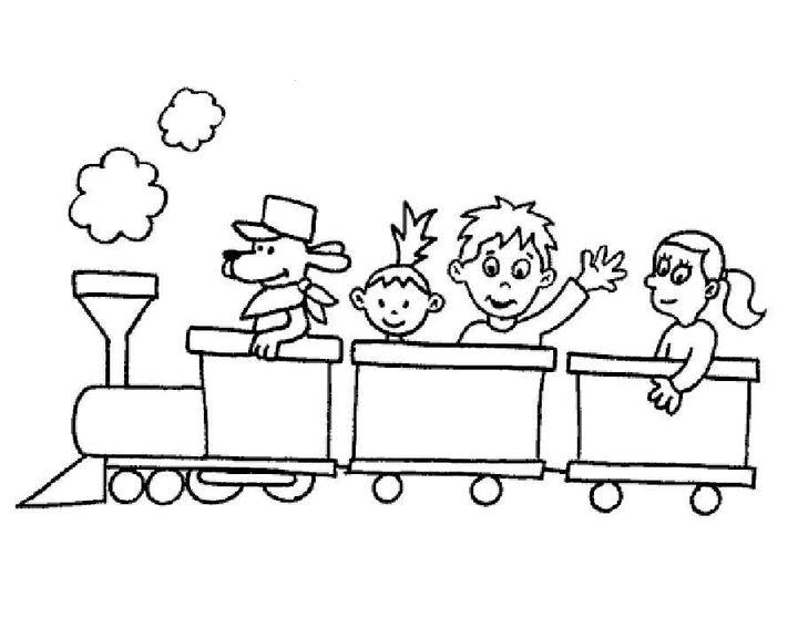 раскраска паровоз раскраски паровоз