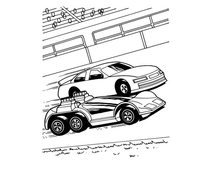 Раскраска Хот Вилс BMW   Раскраски хотвилс