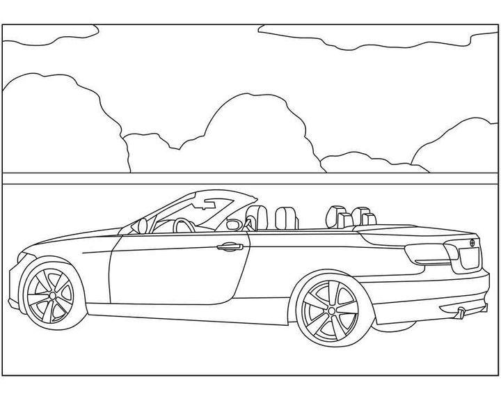 Раскраска BMW X5 (E70) | Раскраски машины