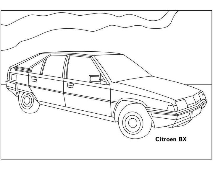 Раскраска BMW X5 (F15) | Раскраски машины
