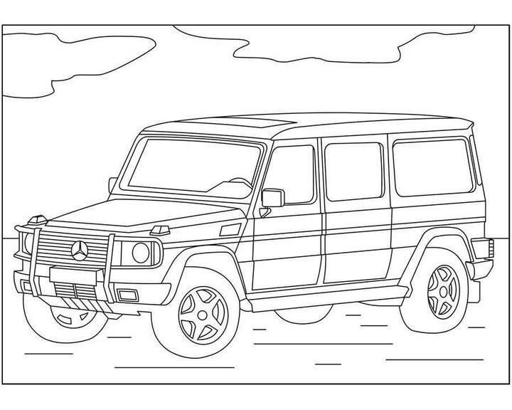 Раскраска Mercedes-Benz S-Class | Раскраски машины