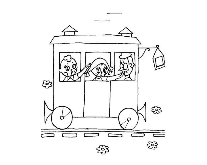 вагончик картинки раскраска наши влюбленные поздравляю