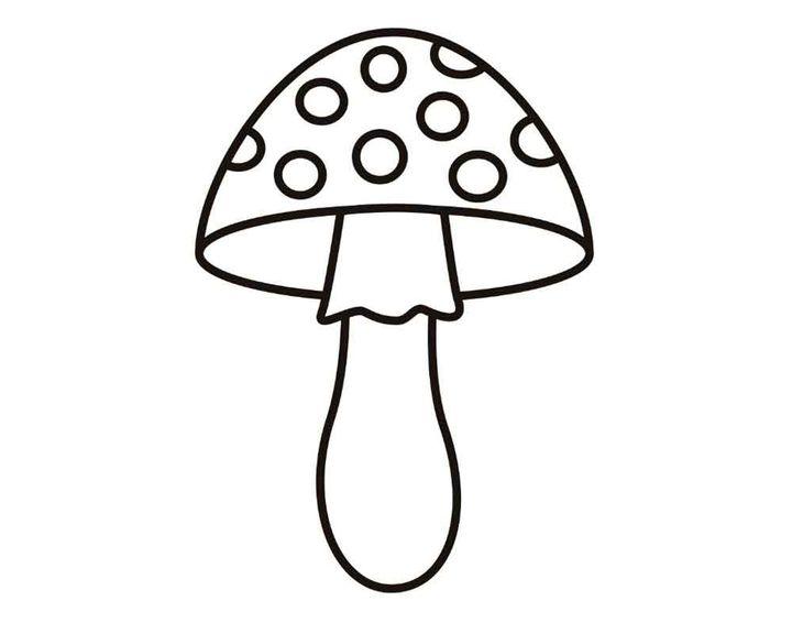 раскраска мухоморник раскраски грибы