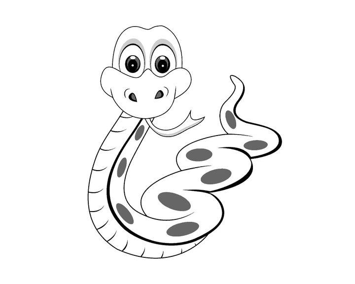Змейка картинки раскраски