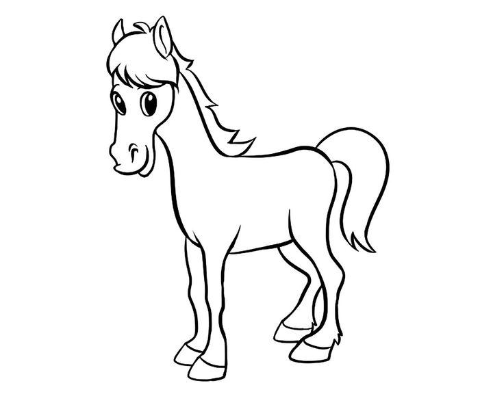 раскраска тройка лошадей раскраски лошадь