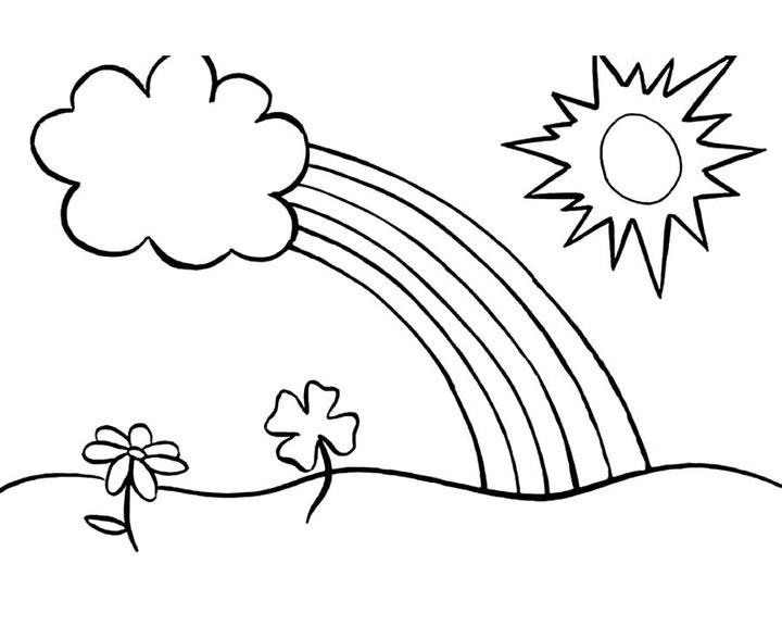 Солнечная погода картинки карандашом, днем