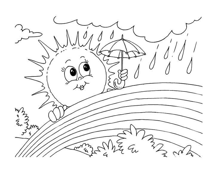 Солнечная погода картинки карандашом, алкоголику рисунок
