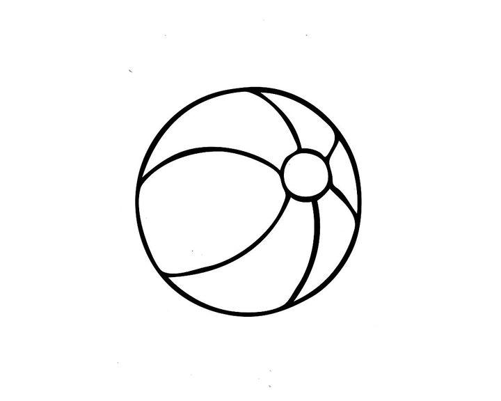 данной рисование мячика картинки салона