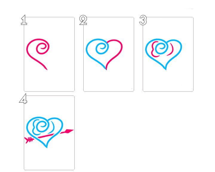 сайте красивые картинки сердечки поэтапно рисовать проторчали